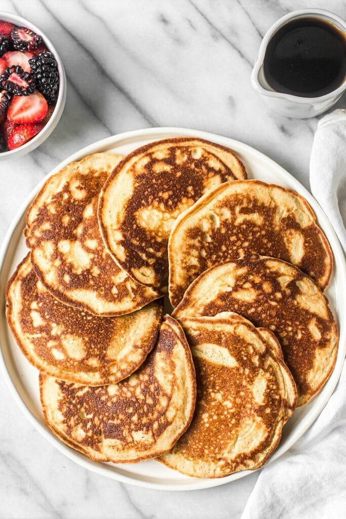 Easy Blender Pancakes (Grain-Free)