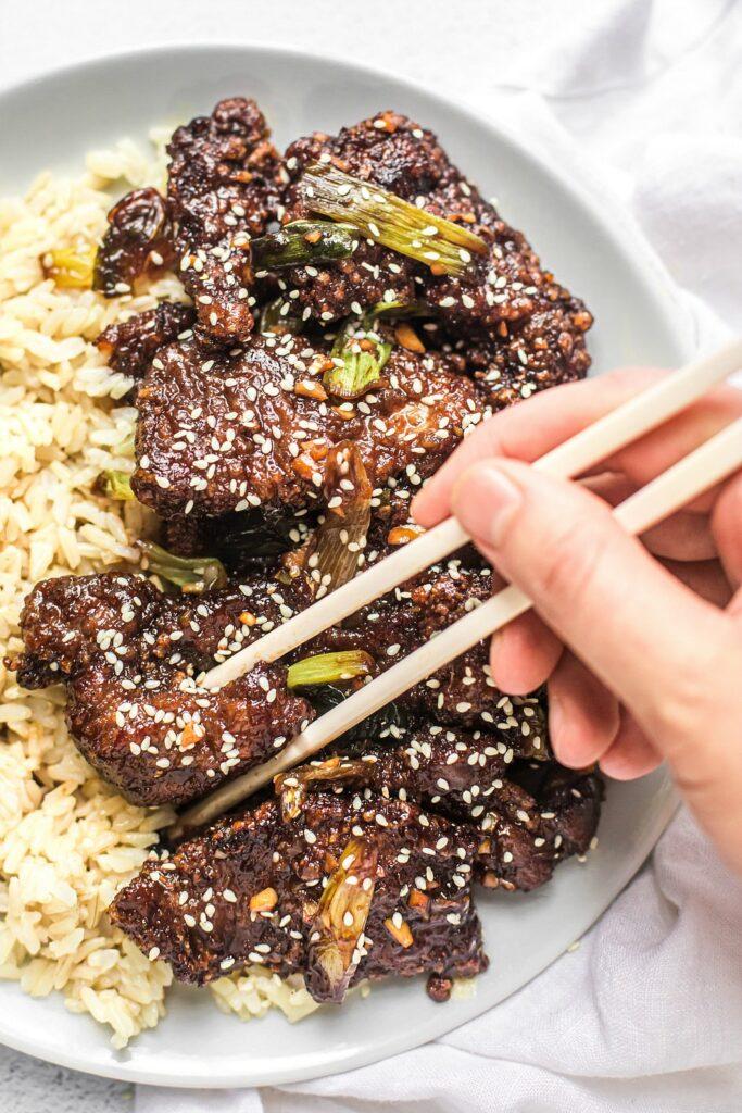 Mongolian Beef (Grain-Free)