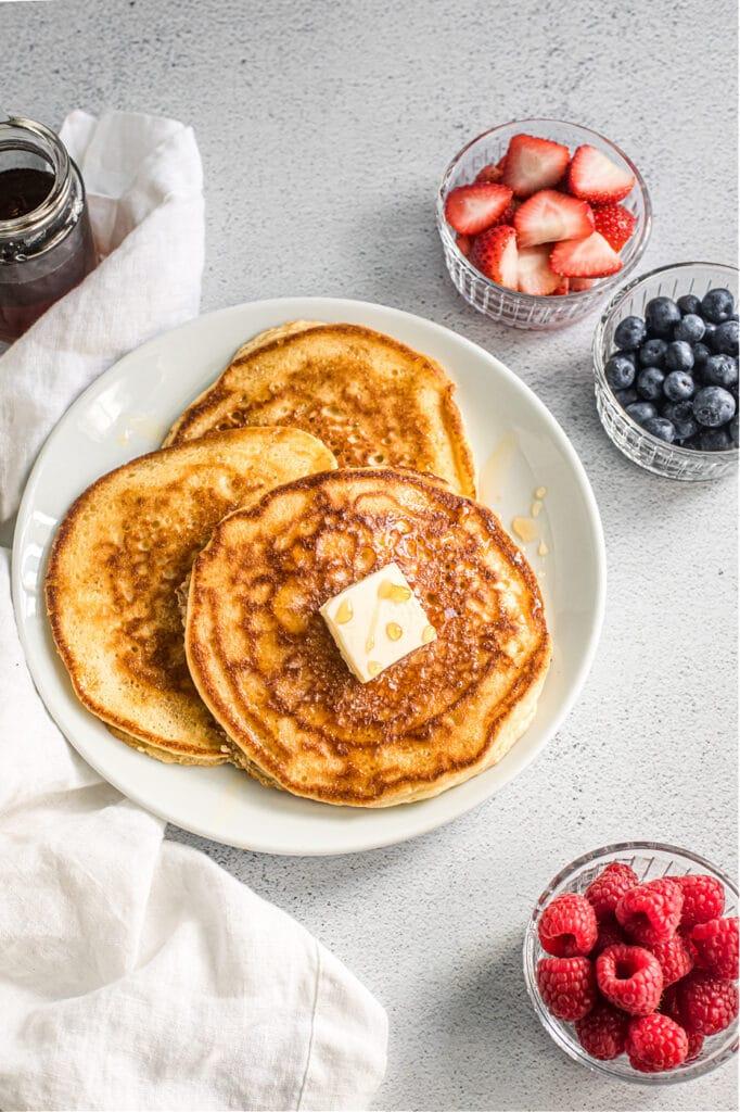 Fermented Sourdough Pancakes